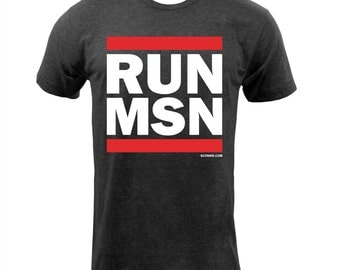 Sconnie - RUN MSN T-Shirt - Tri Black