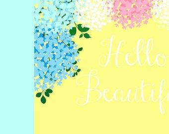 Hello Beautiful Facebook Cover