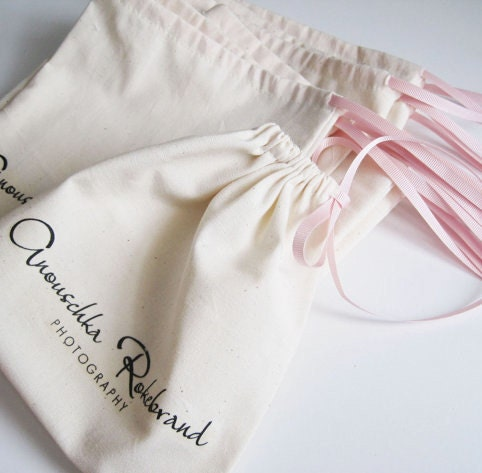 1500 3x4 Organic Cotton Muslin Bag Premium Bulk