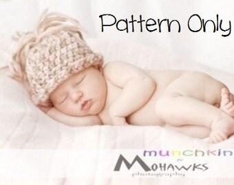 Newborn Crochet Pattern, Baby Crochet Pattern, Newborn Baby Girl Hat Pattern, Crochet Baby Boy Pattern, Crochet Pattern, Crochet Baby Hat
