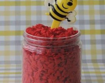 Bumble Bee Puffy Pic are a cute finish to your baked treats.