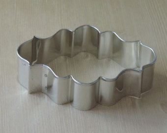 Photo Oval Cookie Cutter