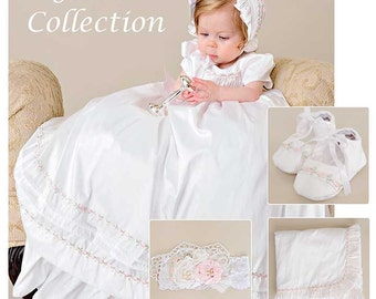 Save 10% on Jessa Christening Baptism Gown Collection