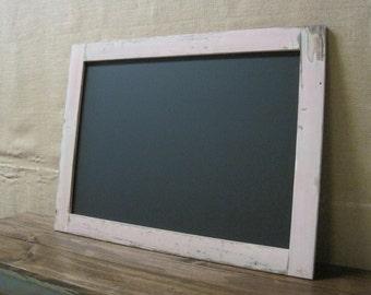 Large Framed Chalkboard / Chalk board / Message Board / 24x36 / Ready to Hang *CHOOSE COLOR*