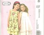 McCalls M5086 UNCUT Sewing Pattern / Children's - Girls Dress pattern / Sizes 2, 3, 4, 5