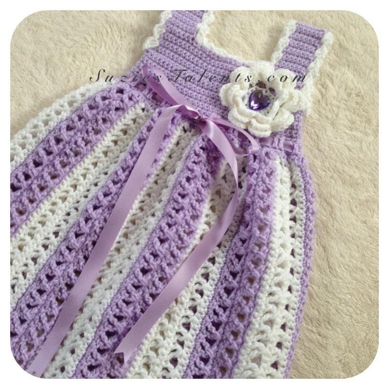 Crochet Dress Pattern For Kids Crochet Baby Dress Pattern