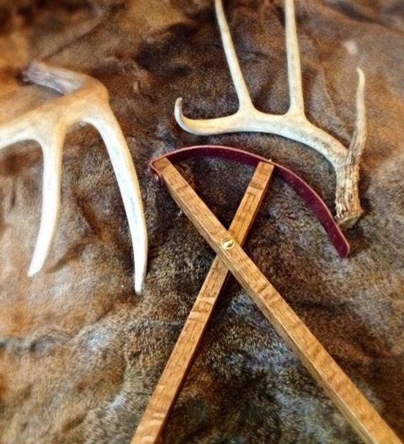 Custom Made Sossi Jewelry Home: Items Similar To Custom Hand Made Wooden Shooting Sticks