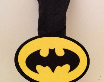 20 Batman Napkin Rings, Batman party, Superhero party, Batman Birthday