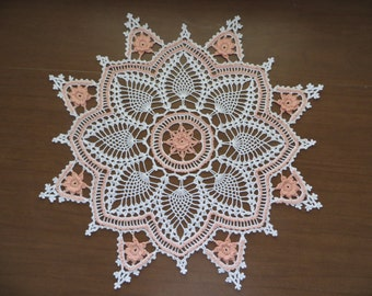 Pineapple Radiance Doily