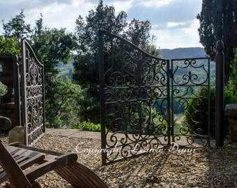 8x12 Through the gate to Tuscany