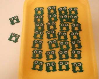 Monster Party Favors, Treat Bags, Monster Closures, Halloween Party Favors, Halloween Goodie Bags, Halloween Party