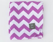 orchid purple swaddle blanket. girl. Soothing blanket. Stroller blanket. Lightweight summer swaddler. receiving