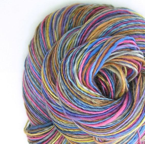 Sport Weight Yarn Handspun Yarn, Organic Yarn, Polowarth Yarn, Silk ...