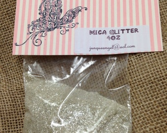 Mica Glitter 4 ounces (Free Shipping )