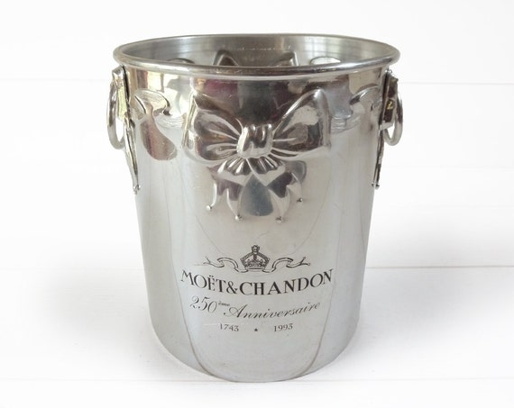 Exceptional champagne BUCKET - COOLER - collector  -  Limited Edition special anniversary.