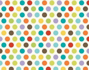 "Riley Blake Designs ""Good Life"" Multi Dots Fabric by Deena Rutter 1 yard C2883"