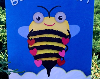 Bee-Lieve in You - Encouragement Greeting Card, Note Card