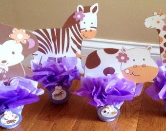 Jungle jill monkey baby shower party favors set of by debbyscrafts - Monkey baby shower favors ideas ...