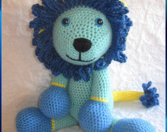 Full of Fun Lion Crochet Pattern