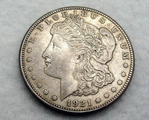 1921 Morgan Silver Dollar - Silver Dollar - Coin collection