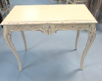 Ornate Shabby Chic Side Table