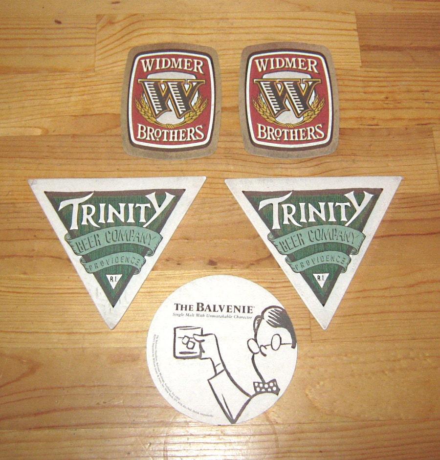 Cardboard paper beer coasters bar widmer by kathyanimalfigurines - Cardboard beer coasters ...