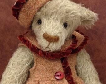 Lucy artist mohair bear