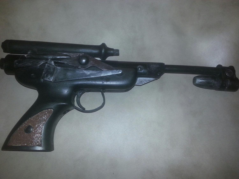 star wars rotj skiff guard blaster pistol prop replica. Black Bedroom Furniture Sets. Home Design Ideas