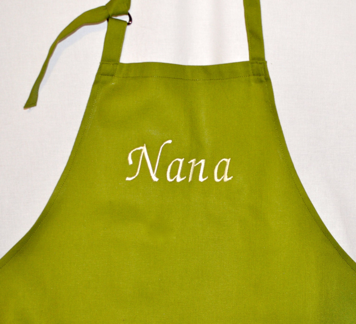 Personalized Embroidered Apron Advertise With A By