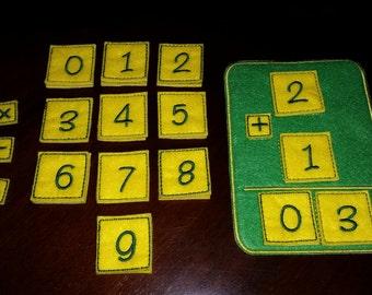 Felt Math Set