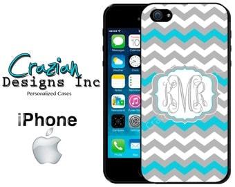 iPhone 6 6 Plus Case -  Chevron iPhone Case - iPhone 4 Case - iPhone 5 Case - Monogrammed iPhone 5C Case - iPhone 5S Case