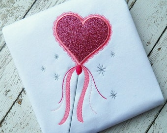 HEART WAND machine embroidery design