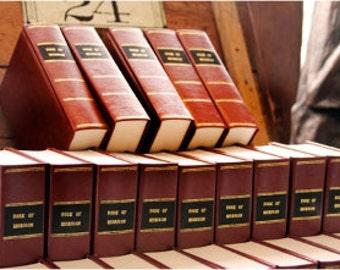 1830 Book Of Mormon Replica