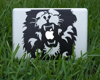 Lion Decal for Macbooks and ipads