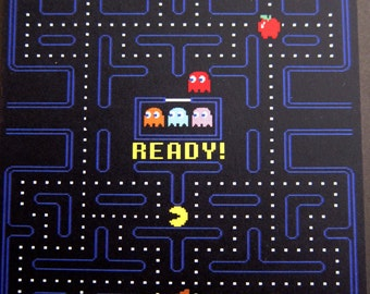 Pac-Man Postcard