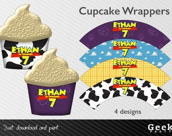 Toy Story Cupcake Wrappers - Printable