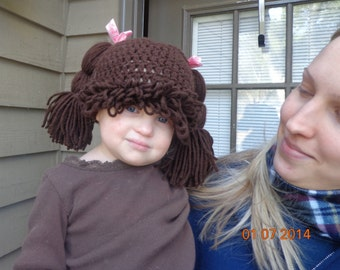 Looks like cabbage patch kids hat