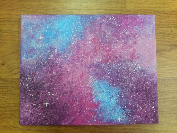Galaxy pastel drawing for How to paint galaxy