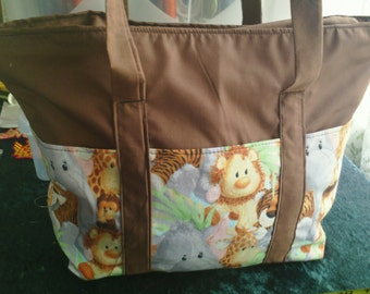 Novelty tote bag - Safari