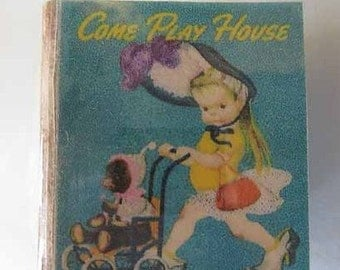 Children's Book Come Play House - dollhouse miniature 1:12 scale