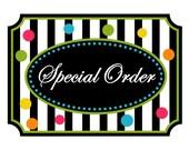 Special Order~Ryan Walls