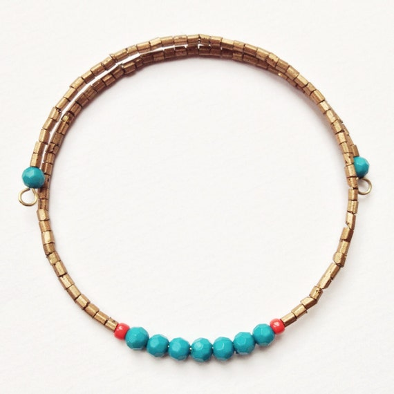 Egyptian Inspired Eco Friendly Minimalist Bracelet