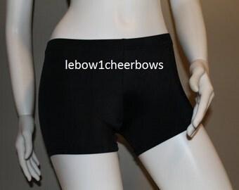 Spandex shorts Black