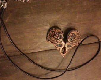 Xena Warrior Princess Mini Breastpate Necklace Charm