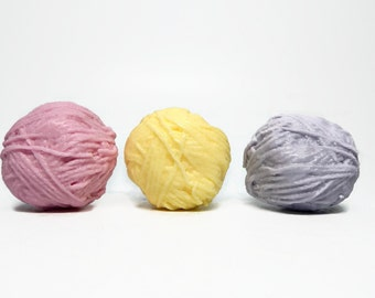 Yarn Shaped Soap - Choose Your Color & Scent