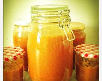 Homemade Passata Sauce
