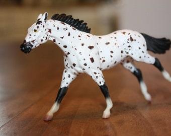 Hand painted Breyer horse Leopord Appaloosa