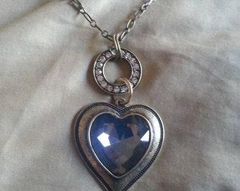 Blue-ish Crystal heart