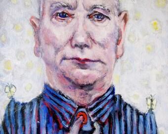 Mike Kelly oil portrait