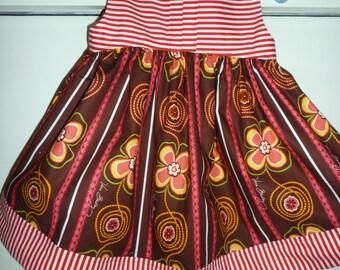 Sunshine Dress in size 2T Custom sewn by MimiLL